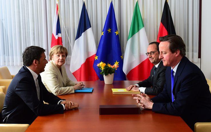 Vertice Ue:  risultati scarsi. L'Italia è sola