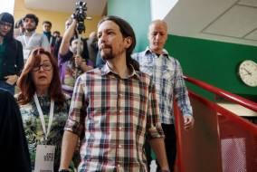 Il leader di Podemos Pablo Iglesias