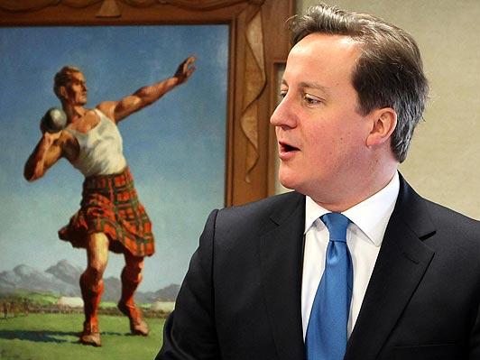 Trionfa Cameron, ruggisce il leone di Scozia