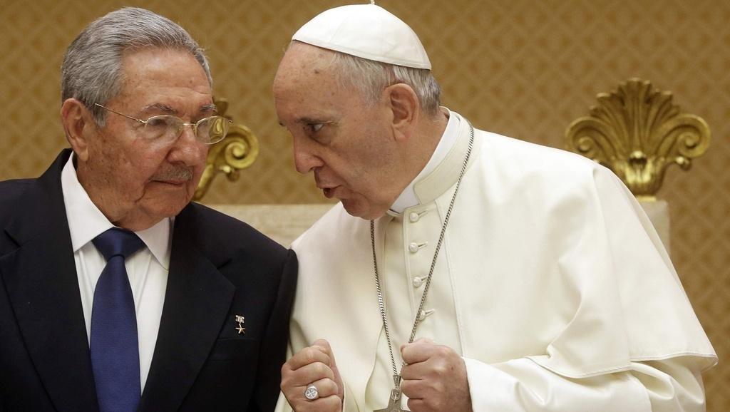 Raul Castro dal Papa. Potrei tornare cattolico