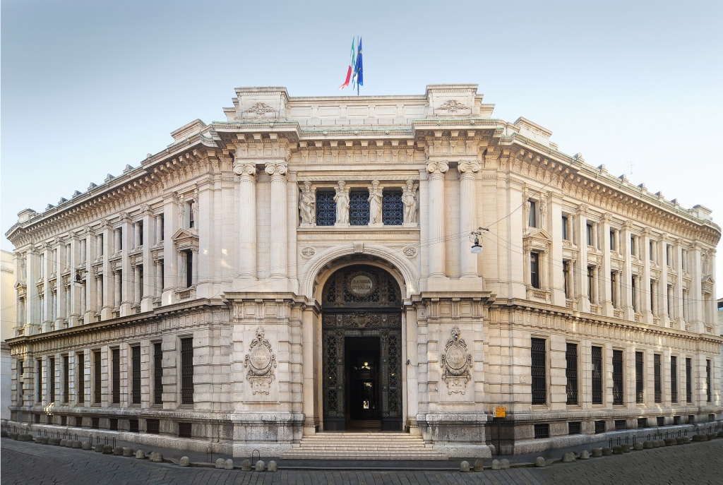 Debito pubblico, per Bankitalia a luglio -4,5 mld euro