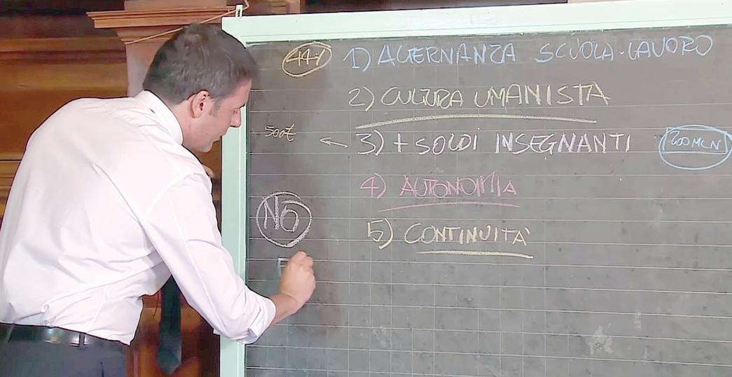 Buona Scuola, Renzi lo spiega in video e per lettera
