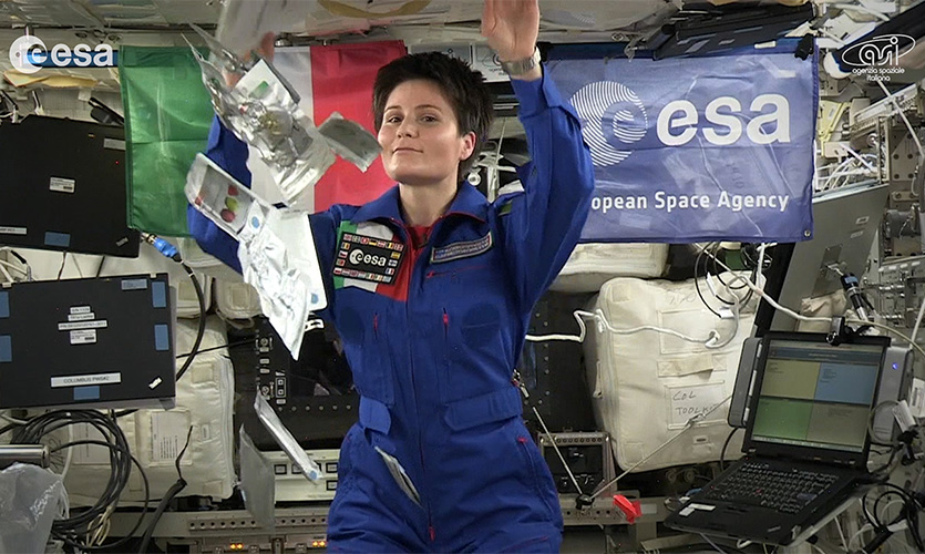 Il ritorno di Samantha, astronauta da record