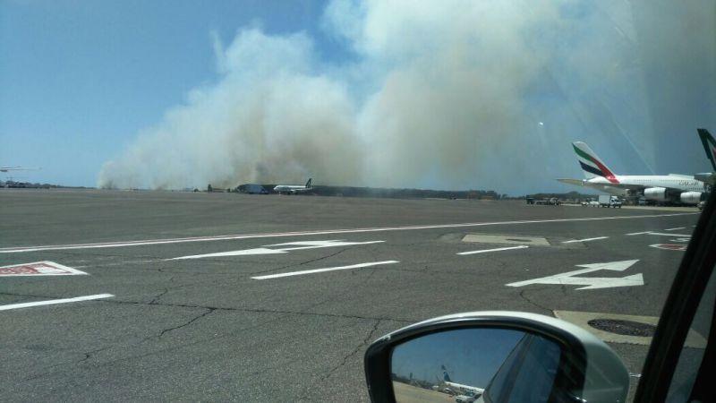 Fiumicino, l'incendio è doloso. Traffico aereo in tilt