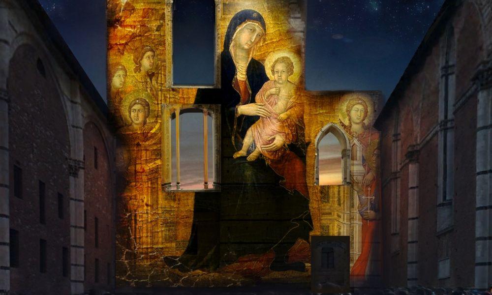 La Divina Bellezza di Siena tra arte e tecnologia