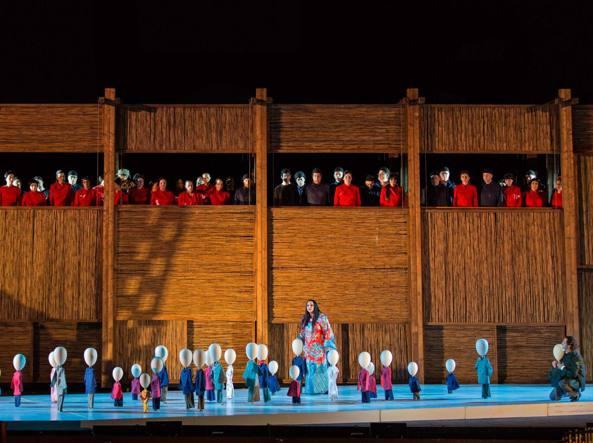 Una Turandot con poca anima e pochi applausi.
