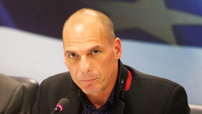 Handover ceremony of Yanis Varoufakis in Athens