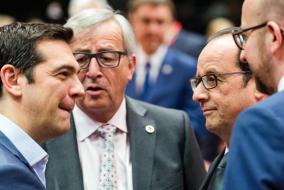 APTOPIX Europe Greece Bailout