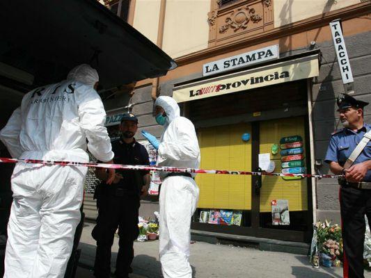 L'assassino della tabaccaia di Asti confessa, 7 minuti e poi la disperazione