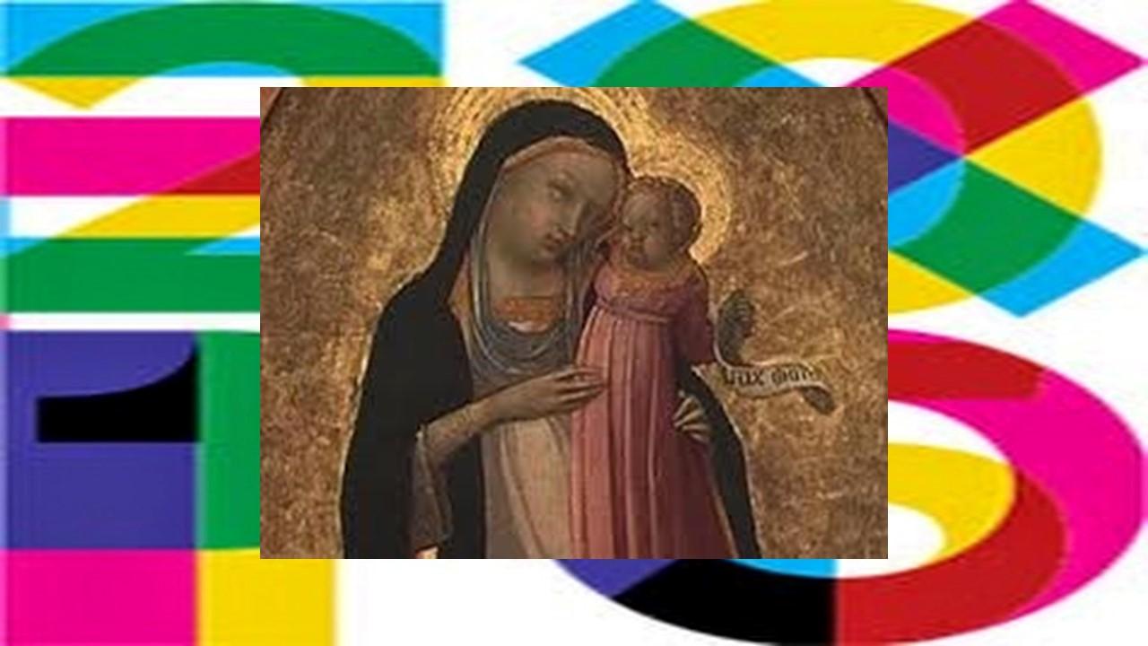 la Madonna con bambino mangia all'Expo