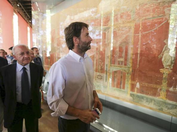 Pompei, la Palestra Grande, gli affreschi di Murecine e tutto ciò che ancora resta