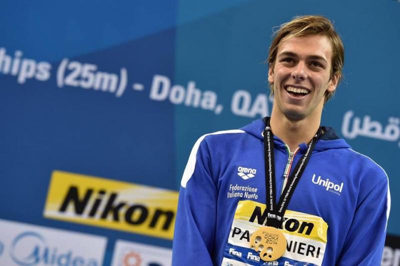 Mondiali nuoto, l'azzurro Paltrinieri è d'oro