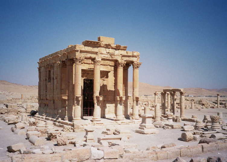 Il-tempio-di-Baal-Shamin-a-Palmira