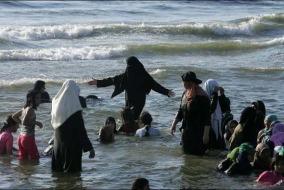 musulmane al mare