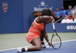 Serena Williams a terra: è lei la grande sconfitta di questo Us Open