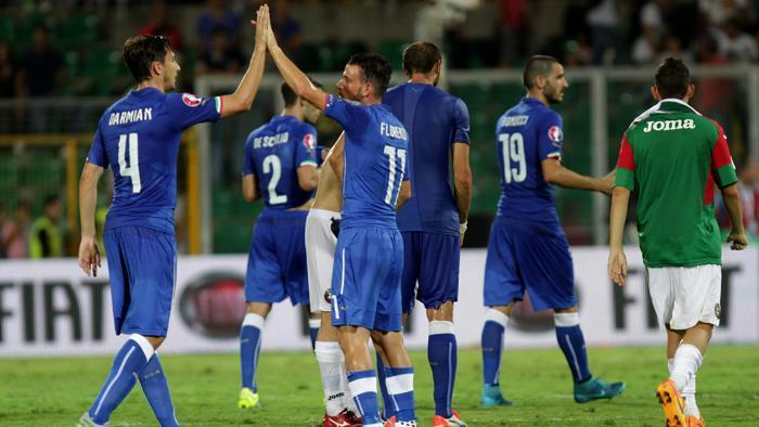 Italia di misura anche contro la Bulgaria: Francia 2016 ad un passo