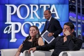 Vera e Vittorino Casamonica a 'Porta a Porta'