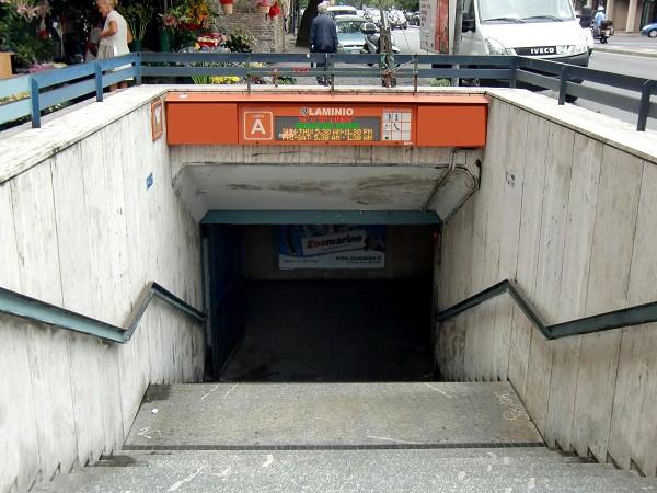 Follia 'metropolitana'a Roma: 4 ragazzi chiusi in stazione