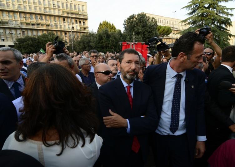 CASAMONICA, POLITICI, SINDACATI, ASSOCIAZIONI E CITTADINI A DON BOSCO - FOTO 7