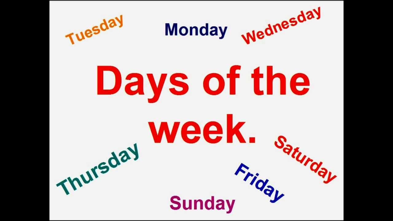 Confondere i giorni della settimana: un fenomeno assai diffuso