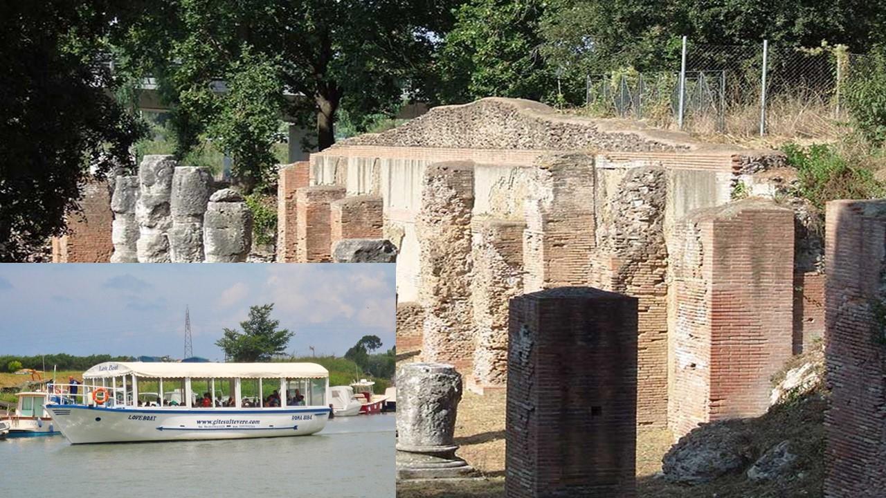 In crociera dal Porto di Claudio e Traiano