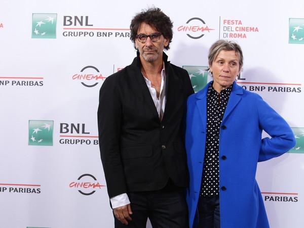 Frances McDormand e Joel Coen una riservata coppia da cinema