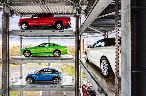 In Usa distributore automatico per auto