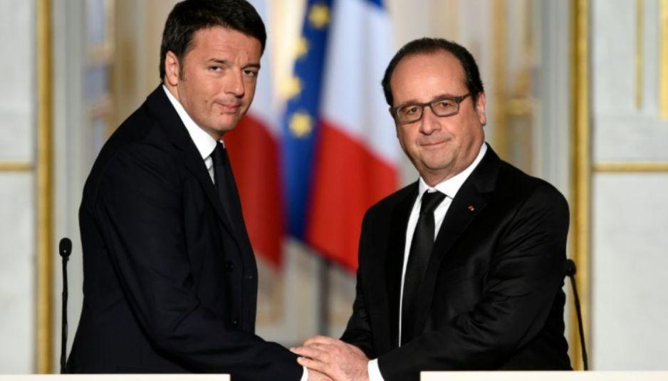 Renzi_Hollande_Eliseo_Novembre