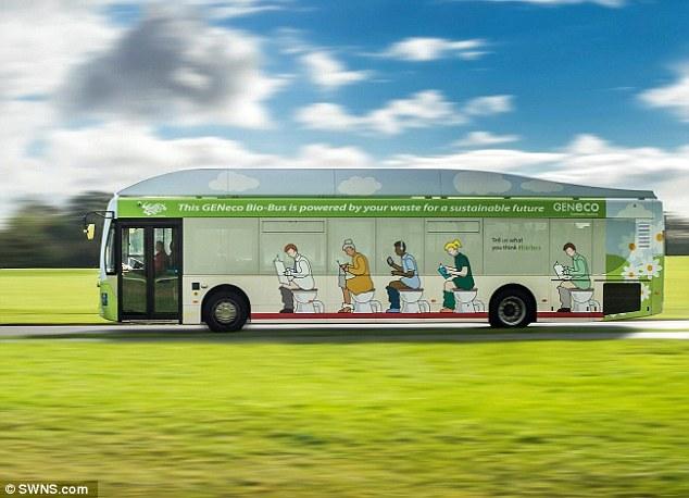 Biobus: il primo ad alimentarsi con rifiuti organici