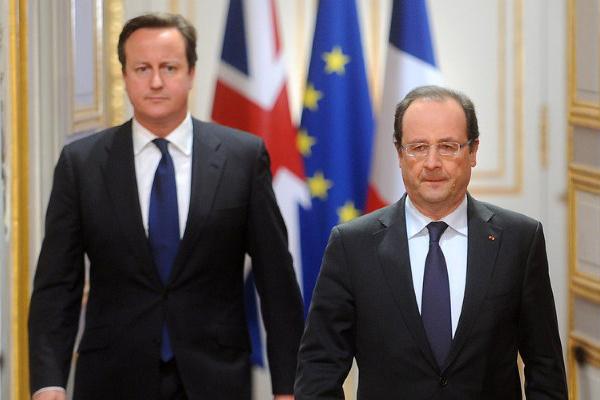 Cameron a Parigi: