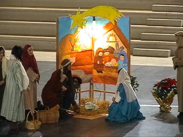 Natale laico in una scuola di Rozzano