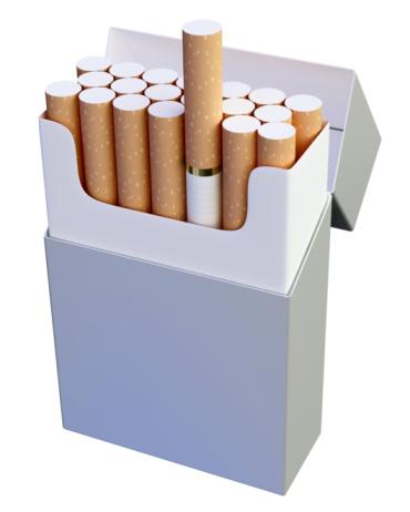 Sigarette no logo per scoraggiare i fumatori