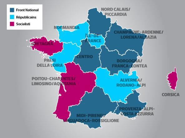 Francia: alle Regionali affluenza in aumento