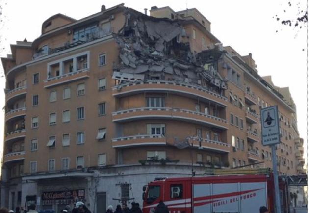 Crolla palazzo a Roma: ipotesi lavori ristrutturazione