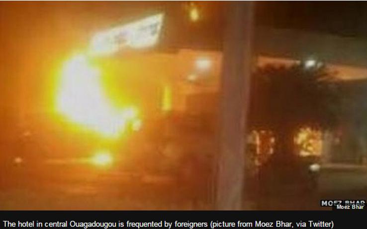 Al Qaeda colpisce un hotel in Burkina Faso