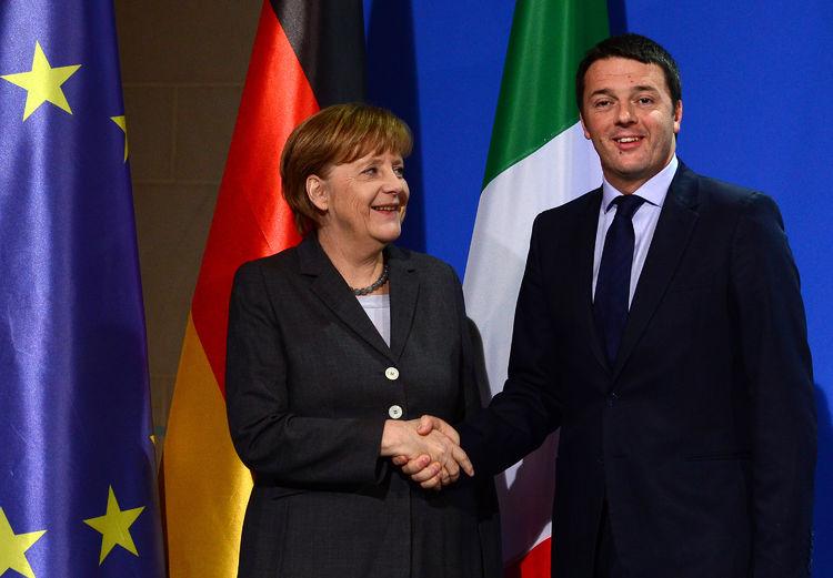 Renzi a Berlino: