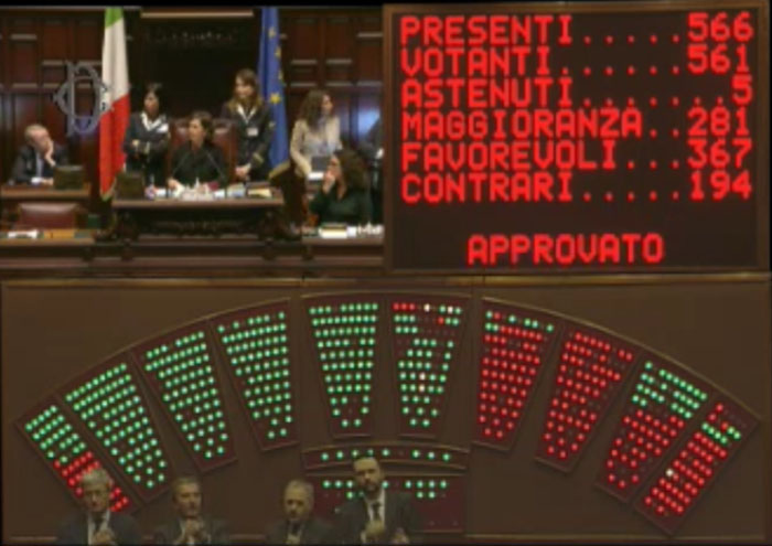 Riforma Costituzionale: ok del Senato, ora alla Camera