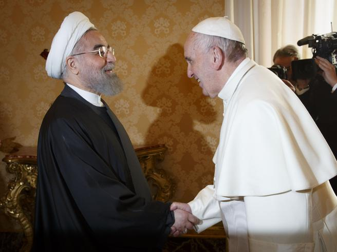 Rouhani dal Papa: