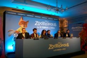 Zootropolis conf. stampa