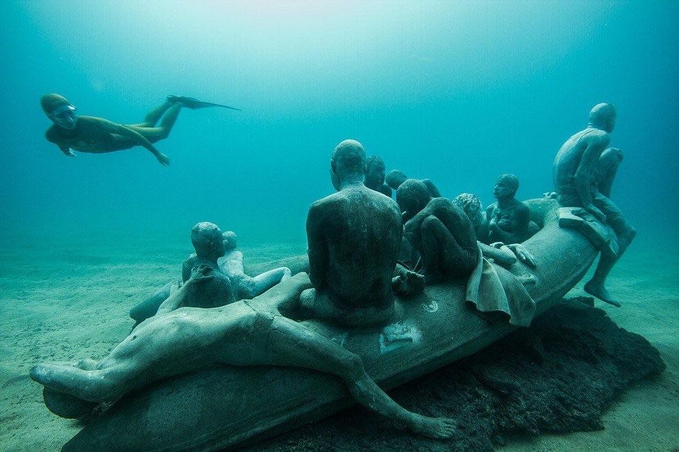 Lanzarote, primo museo subacqueo d'Europa