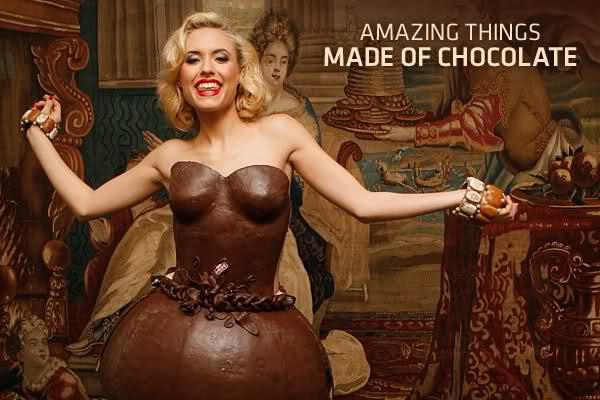 Moda: quando il cioccolato si fa abito