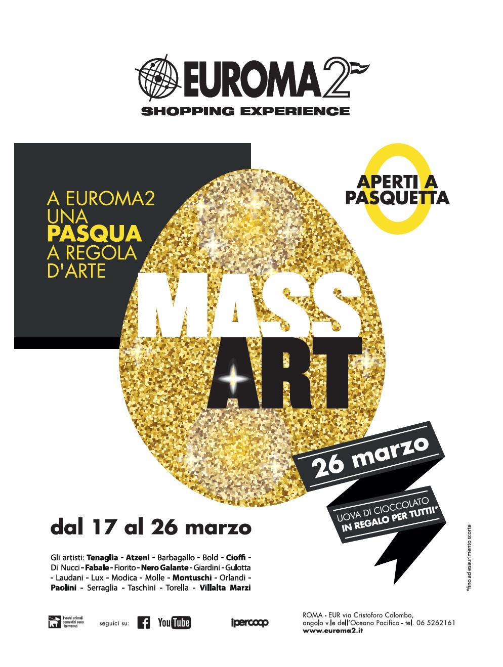 MassArt, a Roma gli artisti espongono l'Ego