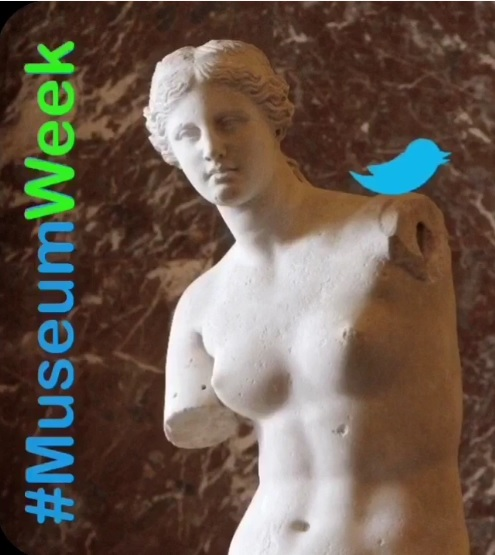 #MuseumWeek, l'arte viaggia su Twitter