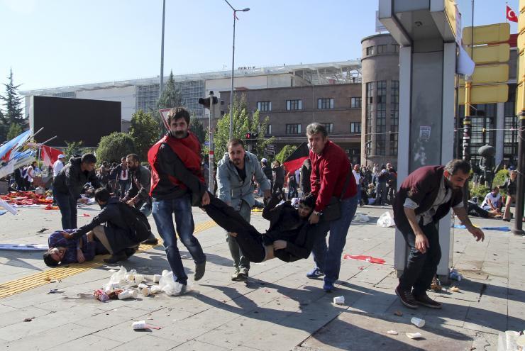 Autobomba ad Ankara, 37 morti e 125 feriti