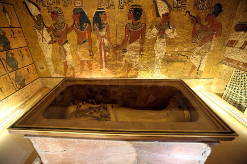 Tutankhamon: scoperte due stanze segrete