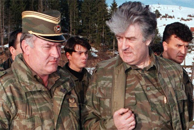 Crimini Serbia: 40 anni di carcere a Karadzic