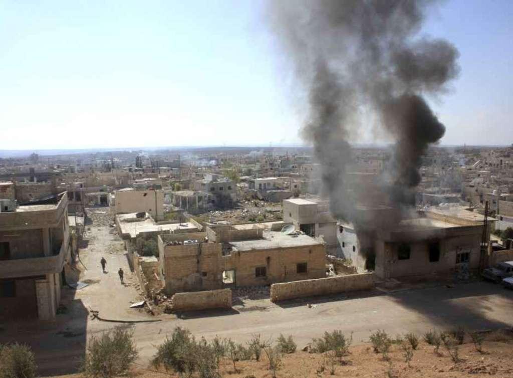 Siria, raid russi su Palmira