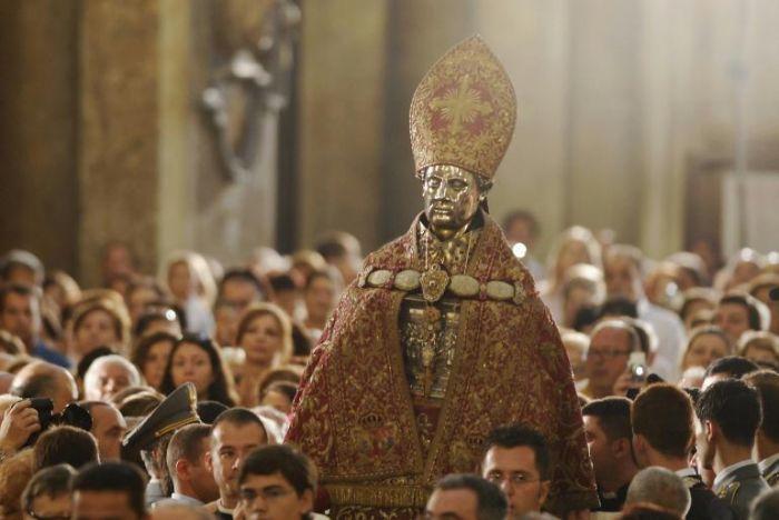 S. Gennaro: un patto di sangue con i napoletani