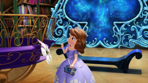 "SOFIA THE FIRST - ""The Secret Library"" - Sofia unlocks a secret world and becomes Storykeeper of magical bookish ÒSofia The First: The Secret Library,Ó the first episode of a four-part story arc, debuting Monday, October 12 on Disney Channel and Disney Junior. (Disney Junior) PRINCESS SOFIA"