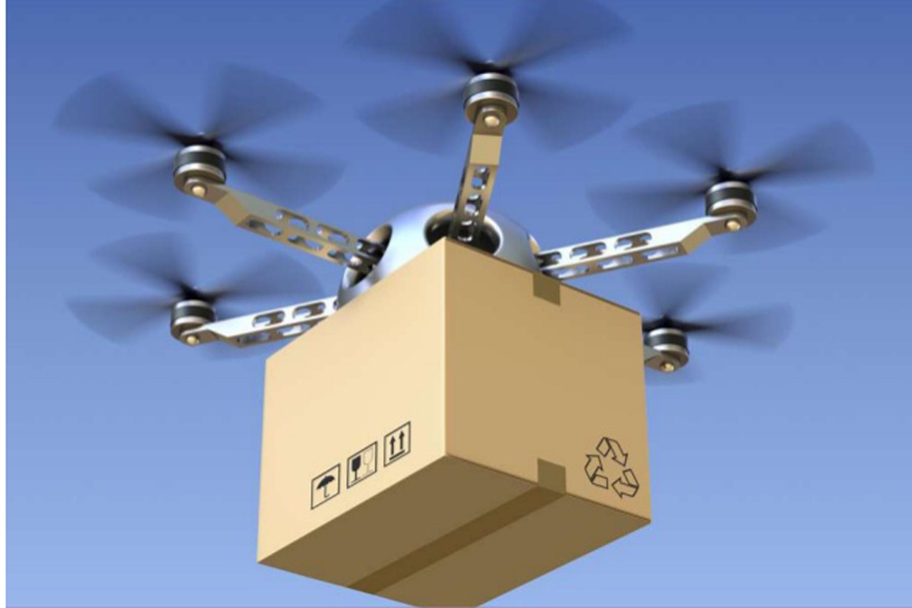 Arriva Roboshop: il drone-corriere